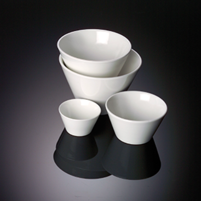 V SHAPE BOWL 18 X 13cm DEEP