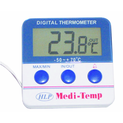 HLP MEDI TEMP FRIDGE THERM -10 TO 50c WITH CABLE IN/OUT