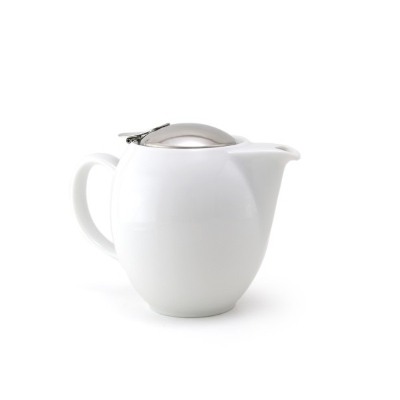 ZERO JAPAN TEAPOT 350ml WHITE WITH INFUSER