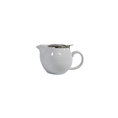 BREW WHITE INFUSION TEAPOT 400 ml WITH INFUSER