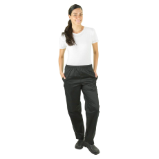 PROCHEF TRADITIONAL BLACK PANTS MEDIUM