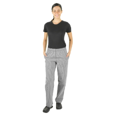 PROCHEF TRADITIONAL CHECK PANTS SMALL