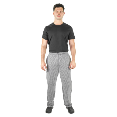 PROCHEF TRADITIONAL CHECK PANTS MEDIUM