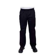 PROCHEF TRADITIONAL BLACK PANTS LARGE