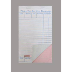 DOCKET BOOK MEDIUM C/LESS DUPLICATE 50 PAGES 10PKT