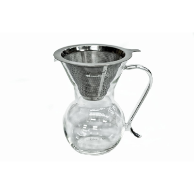 GLASS COFFEE POUR OVER 4 CUP