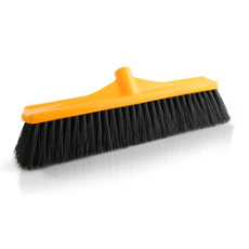 TROJANPLASTIC BROOM HEAD 450mm HARD FIBRE FILL