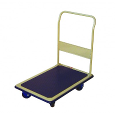 PLATFORM TROLLEY 910X610mm WITH FOLDING HANDLE 300k CAPACITY