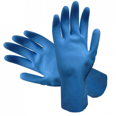 SILVERLINED RUBBER GLOVES 7 SMALL