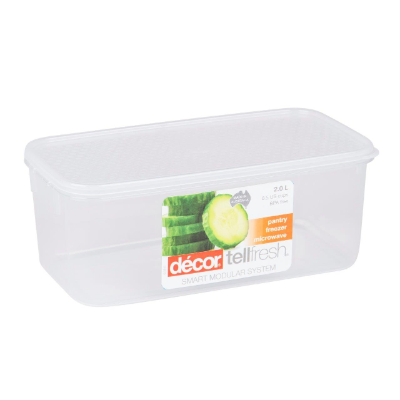 DECOR TELLFRESH CONTAINER OBLONG 2L
