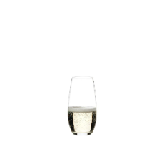 RIEDEL O TUMBLER CHAMPAGNE GLASS 265ml STEMLESS SET OF 2