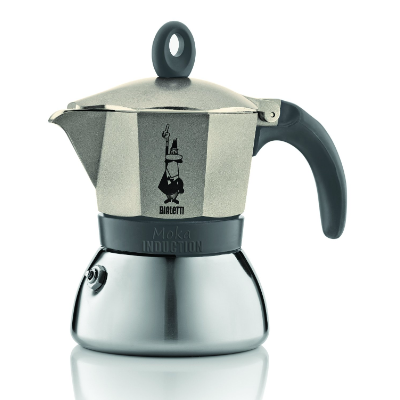 BIALETTI MOKA INDUCTION 3 CUP STOVETOP ESPRESSO MAKER