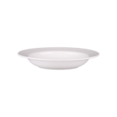 ASCOT BONE SOUP PLATE 230mm RIM SHAPE