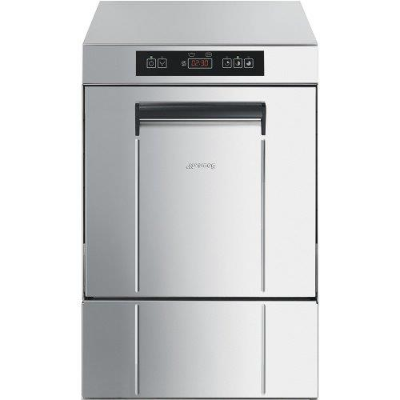 SMEG ECOLINE GLASSWASHER UG405DMAUS WITH 400x400mm RACK AND ADAPTOR