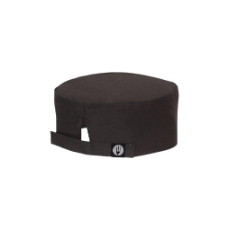 CHEF WORKS COOL VENT CHEF BEANIE BLACK