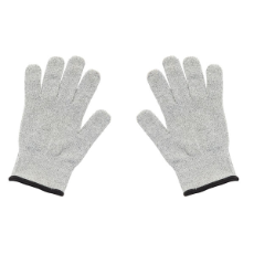 GLOVES GREY/BLACK CUT RESISTANT SET OF 2