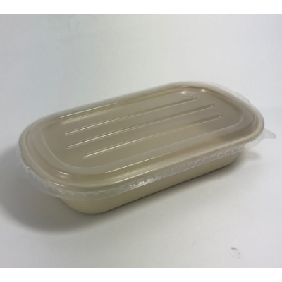 BETA ECO CLEAR LID FOR RECTANGLE CONTAINER 50 PER PACK