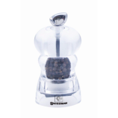 SWISSMAR ALICE PEPPER MILL 10cm ACRYLIC