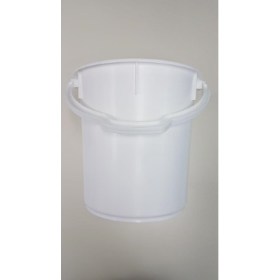 BUCKET WITH HANDLE 22L WHITE FOOD SAFE