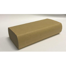 BETA ECO KRAFT ULTRASLIM HAND TOWEL 24x24cm 2400 PER CARTON