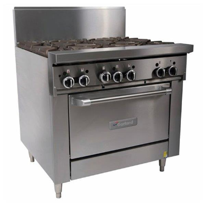 GARLAND 6 BURNER WITH OVEN GF36-6R