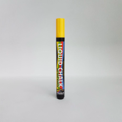 RAINBOW LIQUID CHALK YELLOW 5mm TIP
