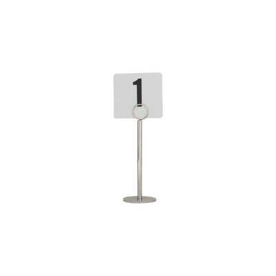 TABLE NUMBER STAND 20cm HEAVY BASE