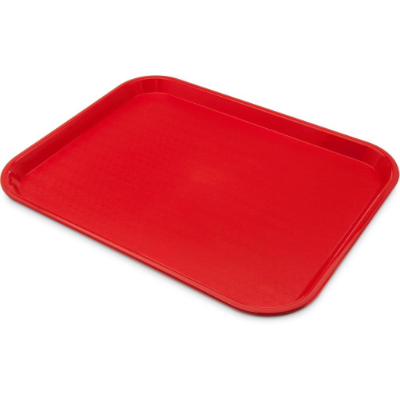TRAY CAFE 14x18in RED