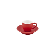 BEVANDE INTORNO ESPRESSO CUP 85ml ROSSO SAUCER SOLD SEPARATELY
