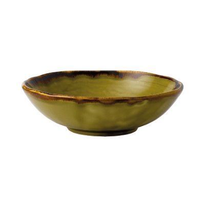 DUDSON HARVEST GREEN SMALL BOWL 124mm
