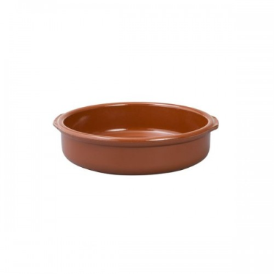 REGAS CASSEROLE DISH 300mm WITH HANDLE TERRACOTTA