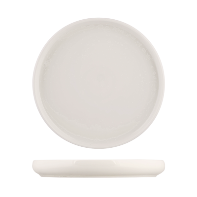 MODA SNOW STACKABLE ROUND PLATE 260mm