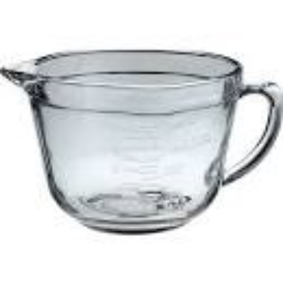 ANCHOR HOCKING BATTER BOWL GLASS 2Litre 8 CUP