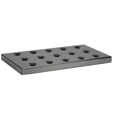 DRIP TRAY BLACK 420x215mm HEIGHT 28mm