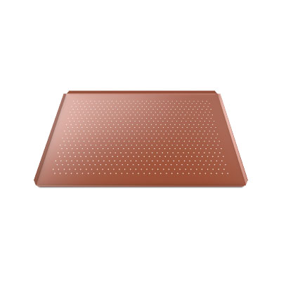 UNOX SILICONE COATED PERF ALUM TRAY 600x400x15mm