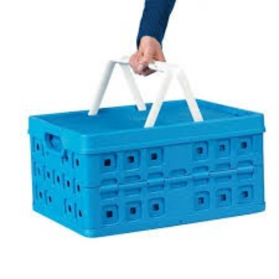 BLUE CRATE INSULATED TO SUIT CLAX FOLDING CART