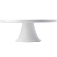 MAXWELL WILLIAMS WHITE BASICS FOOTED CAKE STAND 30cm