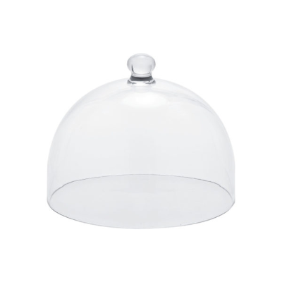 ZICCO CLEAR CLOCHE 280X224mm POLYCARBONATE