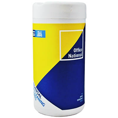 INITATIVE UNIVERSAL CLEANING WIPES TUB 100