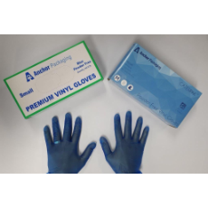 GLOVES DISPOSABLE BLUE EXTRA LARGE NO POWDER 100 PKT