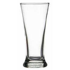 CROWN PILSNER 285ml CAPACITY BEER GLASS 24 PER CTN