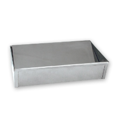 FLOOR ASHTRAY STAINLESS STEEL 305x185mm
