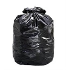 GARBAGE BAG HEAVY DUTY 120L BLACK 100CTN