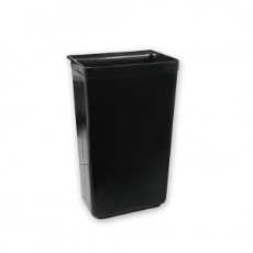 CATERRAX REFUSE BIN LGE BLACK 43X20cm