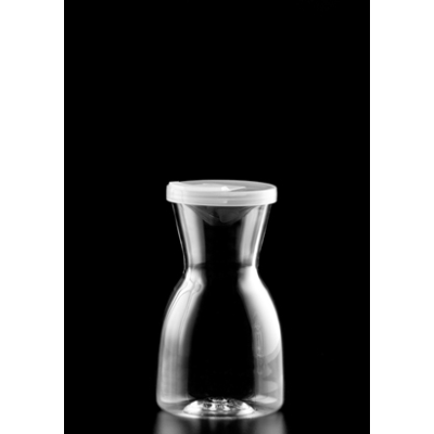 POLYCARBONATE CARAFE 600ml WIT H LID
