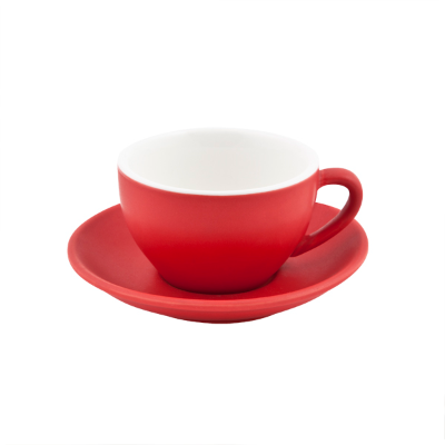 BEVANDE INTORNO CAPPUCCINO CUP 200ml ROSSO SAUCER SOLD SEPARATELY