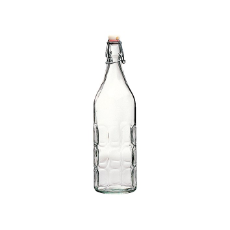 BORMIOLI WATER BOTTLE DIMPLE 1L