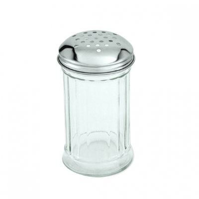 CHEESE SHAKER GLASS S/S TOP 355ml