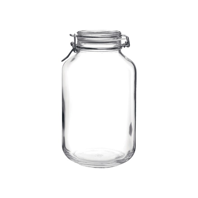 STORAGE JAR 4L GLASS