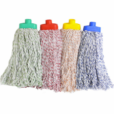 MOP HEAD RED 400g SUITS SCREW IN HANDLES AND MOP000